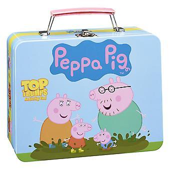 Peppa Pig  Top Trumps Card Game Activity Tin