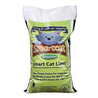 Smart Cat Wood Based Litter - 30ltr