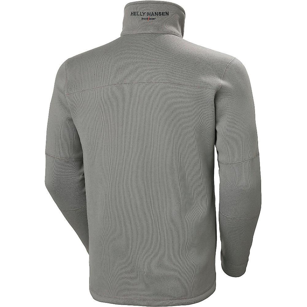 Helly Hansen Mens Kensington Half Zip Work Fleece Jacket