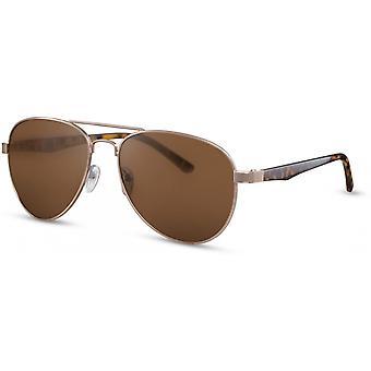 Sunglasses Unisex Pilot gold/brown (CWI2102)
