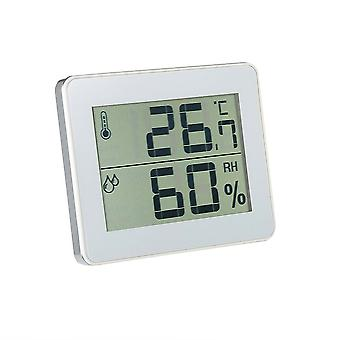 Household Electronic Digital Thermometer and Hygrometer TS-E01-W White