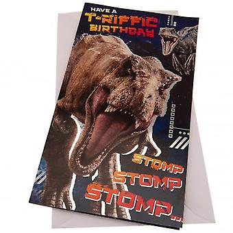 Jurassic World verjaardagskaart