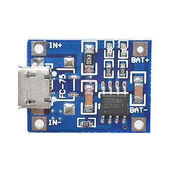 5v 1a Tp4056 Micro Usb 18650 Lithium Battery Charger Board Lead Acid Li-ion Module Led Indicator