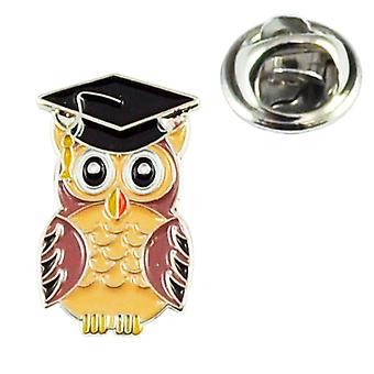 Ties Planet Wise Owl School Graduation Lapel Pin Badge