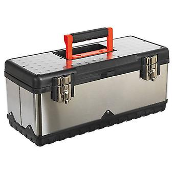 Sealey AP505S Stainless Steel Toolbox 505mm with Tote Tray