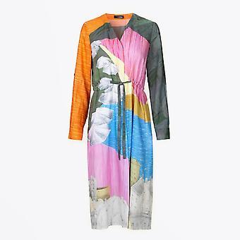 Stine Goya  - Camilla - Landscape Printed Dress - Multi