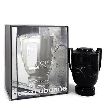 Invictus onyx eau de toilette spray collector edition by paco rabanne 551969 100 ml