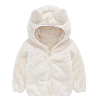 Cute Baby Ear Coat, Autumn And Winter, Hoodie Jacket