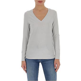 Fabiana Filippi Jed260b970c021vr1 Women's White Cotton T-shirt