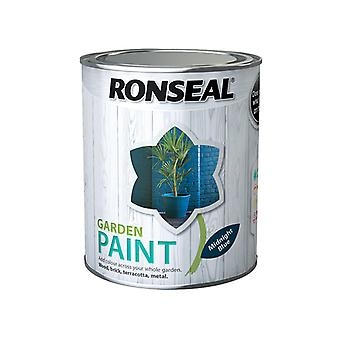 Ronseal Garden Paint Midnight Blue 750ml RSLGPMB750