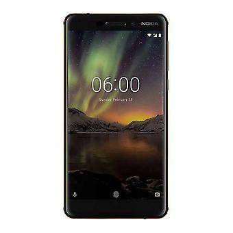 "Nokia 6.1 - Musta 5.5"" HD 32Gb 4G Lukitsematon & SIM ilmainen +16MP Kamera - 11PL2B01A04"