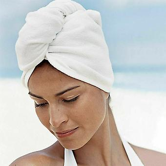 السباحة منشفة- سريع تجفيف الشعر قبعة ماصة منشفة قبعة، التفاف عمامة