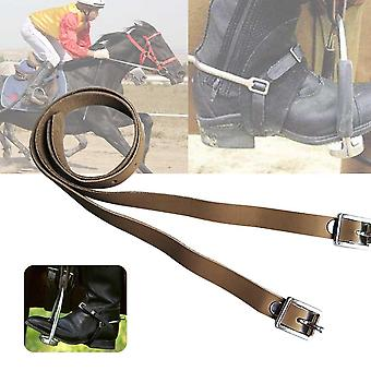 Long Training Horse Riding Pu Leather Sports Accessories, Outdoor Durable Solid