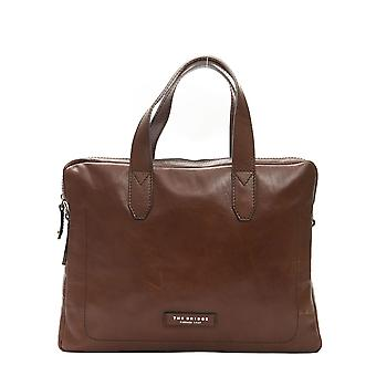 Brown Cushioned And Padded Pocket