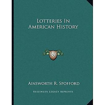 Lotteries in American History