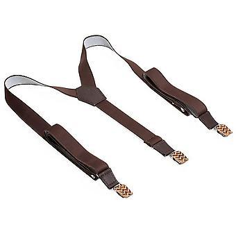 BeWooden Trio Suspenders - Brown