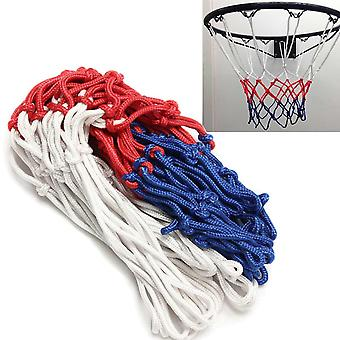 Basketball Rim Mesh Net, Durable, Heavy Duty Nylon Hoop Goal, Fits Standard