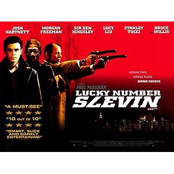 Lucky Number Slevin elokuvan juliste (17 x 11)