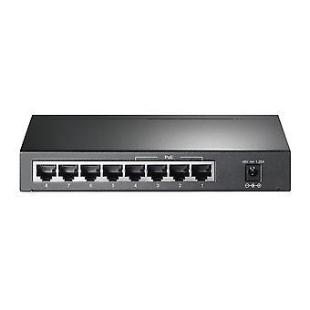 Tp-link tl-sg1008p 8-port gigabit poe ethernet prepínač (4 poe porty, 55 watt rozpočtu, žiadna konfigurácia