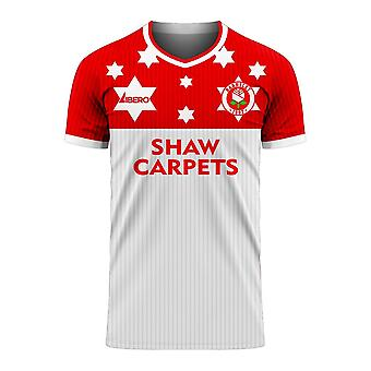 Barnsley 2020-2021 Away Concept Football Kit (Libero) - Adult Long Sleeve