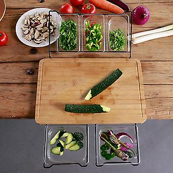 Extensible Bamboo Cutting Board Set Eco-friendly