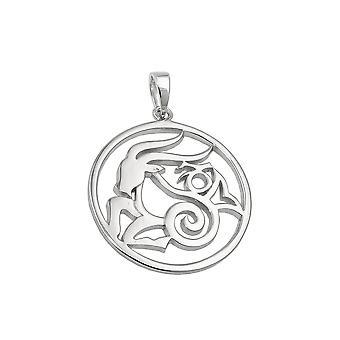Zodiac Pendant Capricorn Silver 925