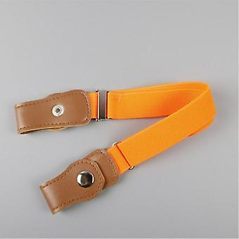 Child No Buckle Stretch Belt, Invisible Kids Toddlers Belts, Elastic Waist