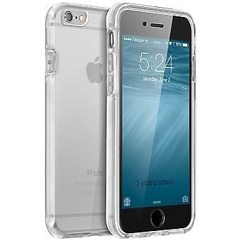 Dual Soft Back Case for Apple iPhone 6, 6S - Transparent