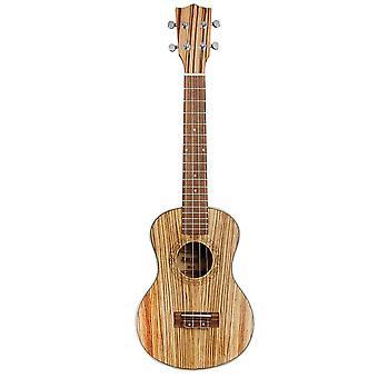 26inch Ukelele Ebony Wood Ukulele String Instruments 4 String Guitar Mini Guitar