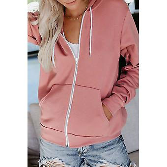 Zip-up Hoodie Jacket