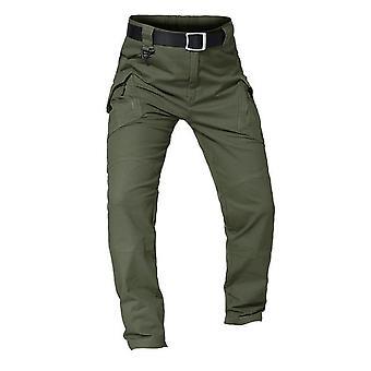 Men's Tactical Multiple Pocket Elasticity Military Urban Trousers Pant