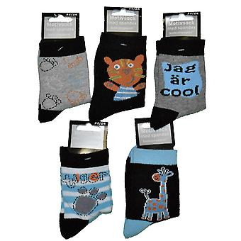 Chaussettes 5-pack 22/24 - Animaux