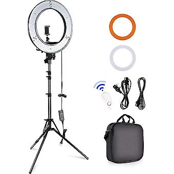 18-inch Ring Lights with Stand, Camera Photo Video Outer 55W LED Ring Light