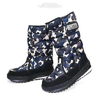 Men Snow Platform Snow Boots
