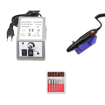 Pro Electric Nail Drill Machine Acrilic File Manichiura Pedichiura Kit Art