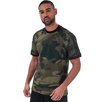 Menn&a0os;s adidas Originals Kamuflasje Cali T-skjorte i andre