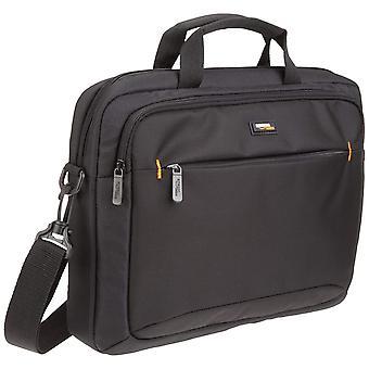 Amazonbasics 14-ιντσών (35,6 cm) φορητό υπολογιστή macbook και tablet τσάντα ώμου θήκη, μαύρο, 1-pack 3