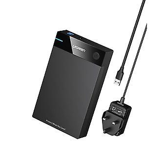 Ugreen harddisk kabinet 3,5 tommer ekstern sata disk caddie læser usb 3,0 2,5 3,5 hdd ssd 16tb ua