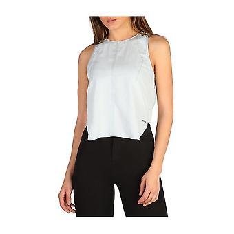 Calvin Klein -BRANDS - Vaatteet - Topit - J20J205419_471 - Naiset - lightblue - M