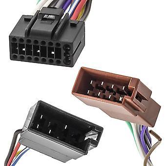 Cable iso macho adaptador de radio de 16 pines para sony cdx 1000 cdx 7100 dab500u cdx cdx gt270 gt470um