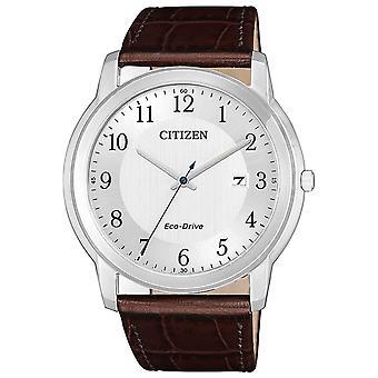 Mens Watch Citizen AW1211-12A, Kvarts, 41mm, 5ATM