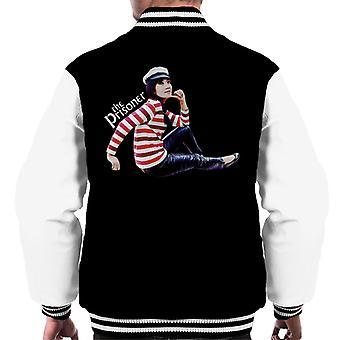 The Prisoner Number 16 Men's Varsity Jacket