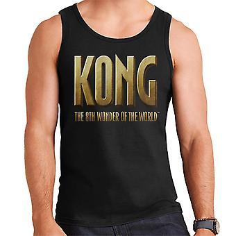 King Kong The 8th Wonder Of The World Logo Men's Vest