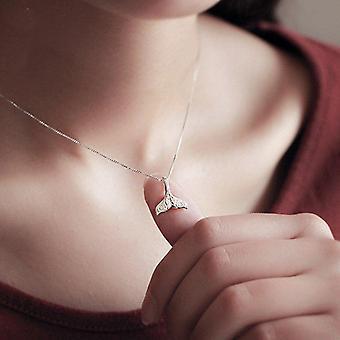 Mermaid 925 Silver Necklace