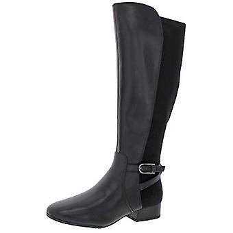 Easy Spirit Debut Women's Leather Block Heel Tall Riding Boot