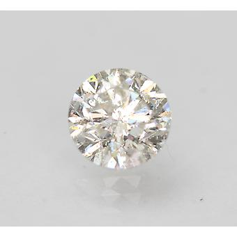 Certified 0.96 Carat G SI2 Round Brilliant Enhanced Natural Loose Diamond 6.03mm