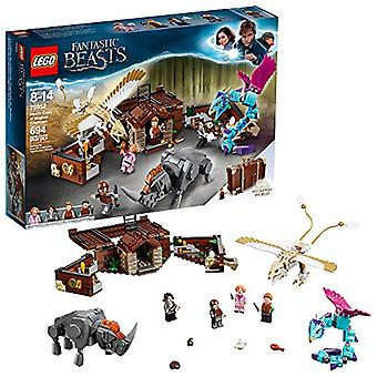 LEGO Fantastic Beasts Newt?s Case of Magical Creatures 75952 Building Kit (694 Pieces) (Discontinued by Manufacturer)