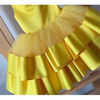 Robes de fleur de couches gonflées