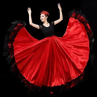 Women Flamenco Skirts Belly Dance