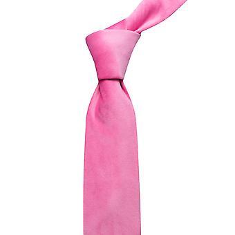 Różowy aksamitny krawat